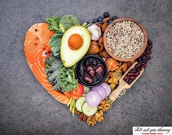 Cung cấp đầy đủ dưỡng chất giúp tăng chiều cao