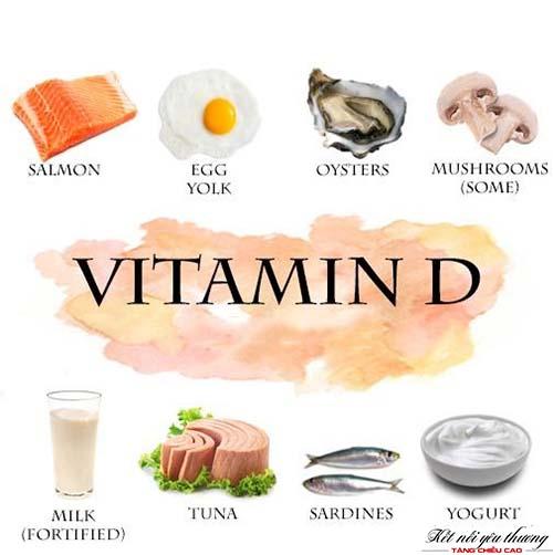 Cung cấp đủ vitamin D cho cơ thể để cải thiện chiều cao nhanh chóng