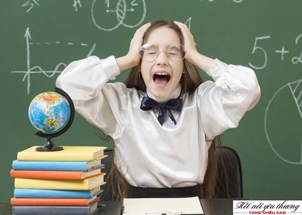 Stress gây cản trở quá trình sản sinh hormone tăng trưởng