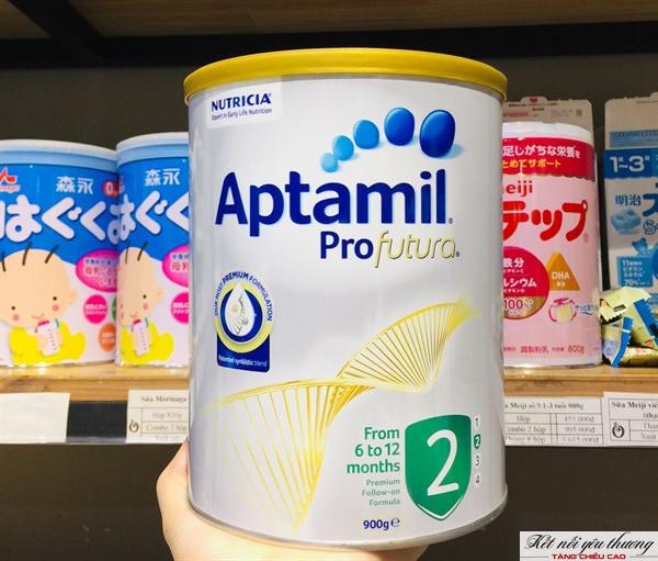 Aptamil Profutura của Úc là một loại sữa phổ biến trên thị trường