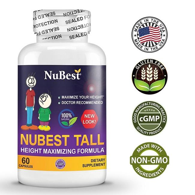 NuBest Tall và những chứng nhận chất lượng
