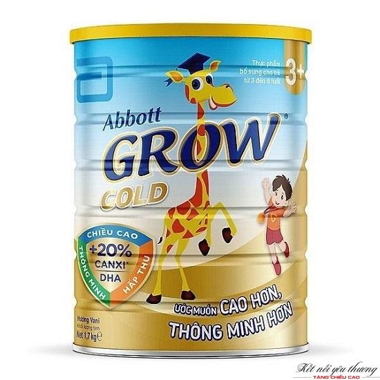 Sữa Abbott Grow tăng chiều cao hiệu quả cho trẻ 3-6 tuổi