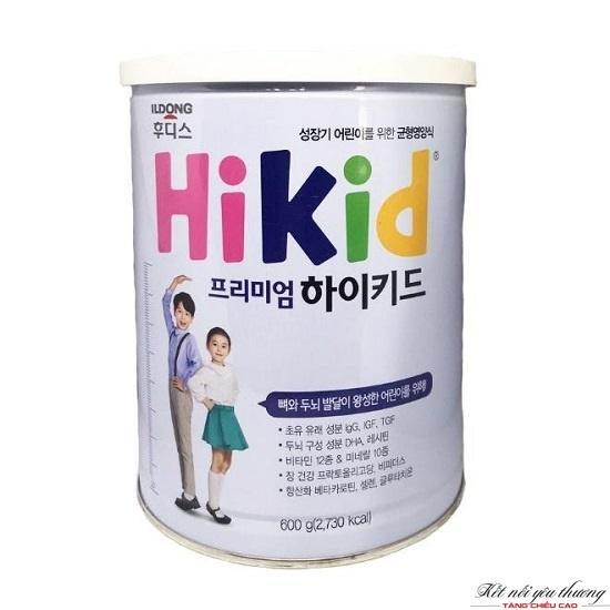 Sữa Hikid do tập đoàn Ildong Foodis của Hàn Quốc sản xuất