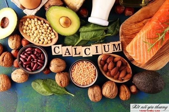 Bổ sung nhiều thực phẩm giàu Canxi giúp trẻ tăng trưởng chiều cao tốt