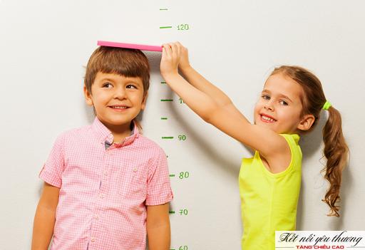 Tăng chiều cao cho trẻ 3 tuổi với tốc độ nhanh nhất.